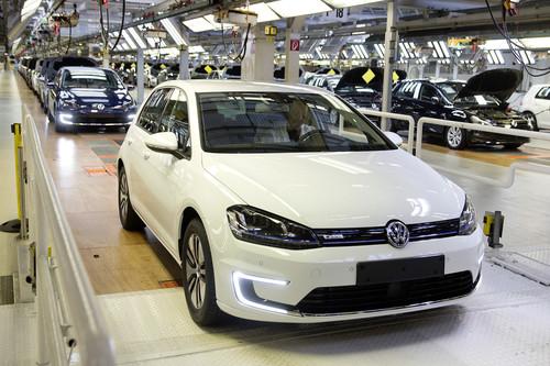 Volkswagen E-Golf-Produktion im Werk Wolfsburg.