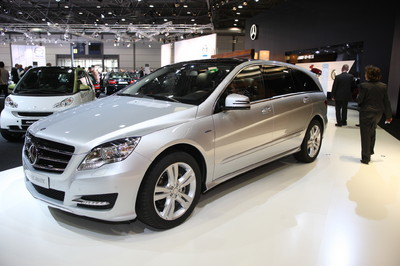 Mercedes-Benz R350 Bluetec 4Matic.
