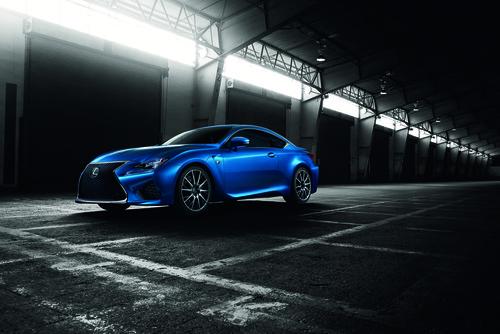 Lexus RC F.