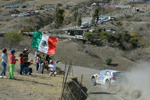 WRC-Lauf in Mexico.