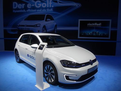 Volkswagen E-Golf.