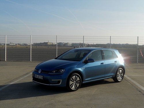 Volkswagen E-Golf.