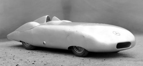 Mercedes-Benz 12-Zylinder-Rekordwagen W 25 aus dem Jahr 1936.