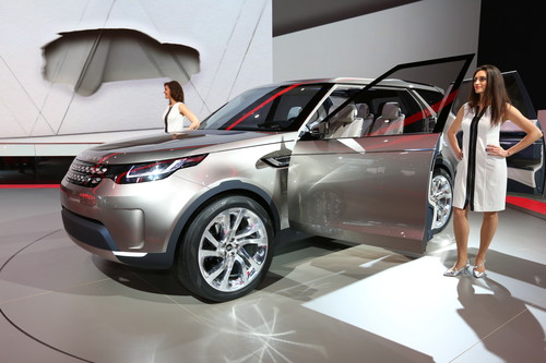 Land Rover Discovery Vison Concept.