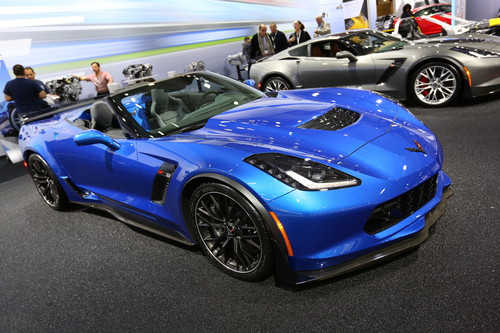 Chevrolet Corvette Z06 Convertible.