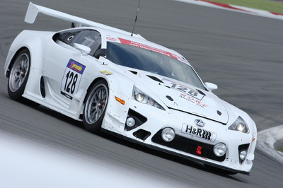 Lexus LFA des Gazoo Racing-Team