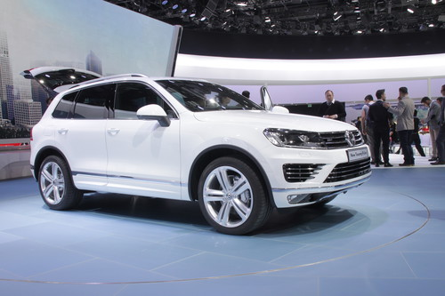 Touareg Facelift Peking 2014