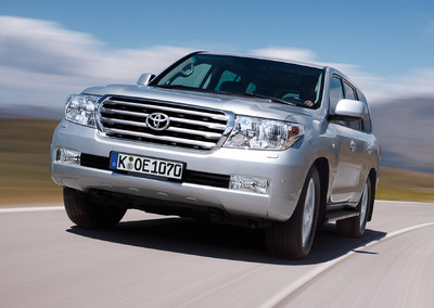 Toyota Land Cruiser V8.