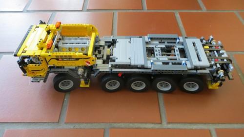 Autokran von Lego Technic.