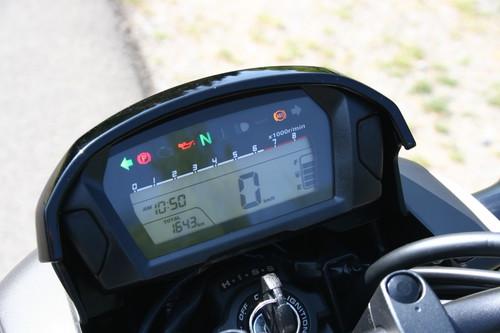 Honda CTX 700 N (Gepäckträger mit Sissybar ist Zubehör).