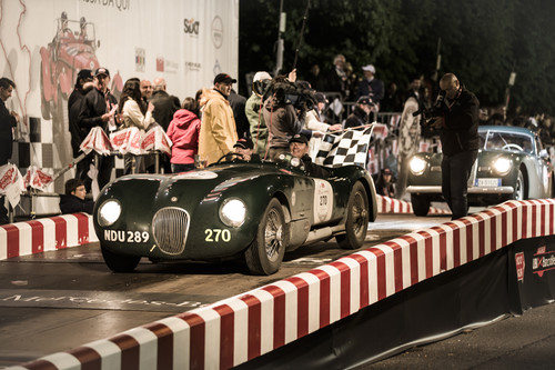 Jaguar bei Mille Miglia 2014.