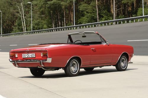 Opel Rekord C Cabriolet.