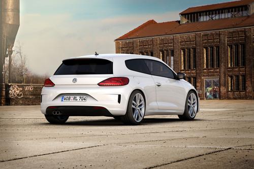 Volkswagen Scirocco R-Line.