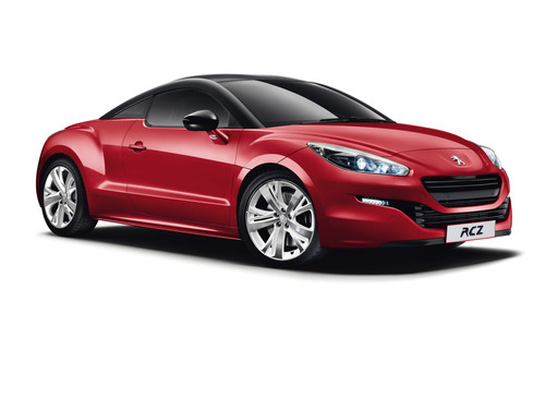Peugeot RCZ Red Carbon.