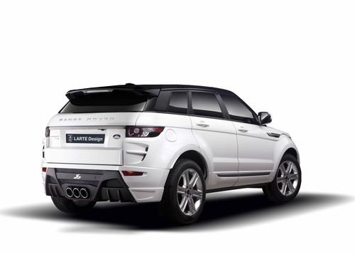 Range Rover Evoque mit Larte-Teilen.