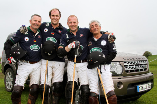 Land Rover Polo Team.