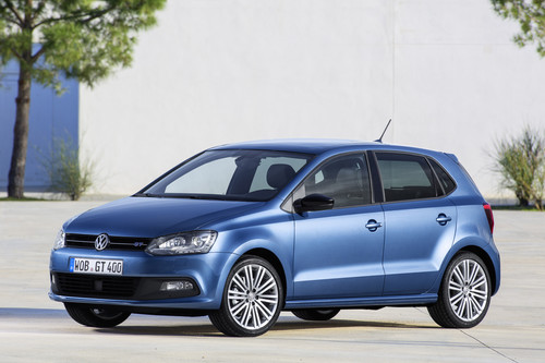 Volkswagen Polo Blue GT.