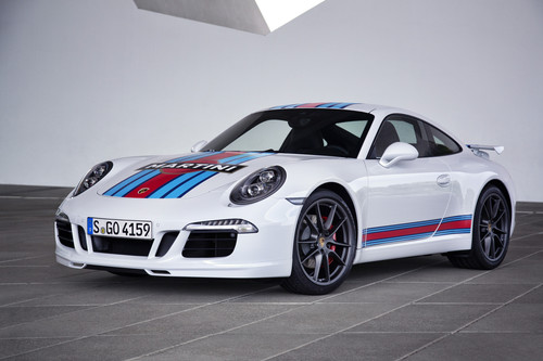 Porsche 911 Carrera S Martini Racing Edition.