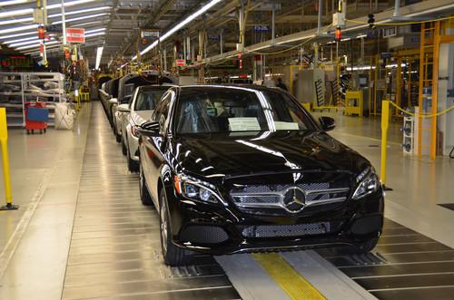 Produktion der C-Klasse im Mercedes-Benz-Werk Tuscaloosa in den USA.