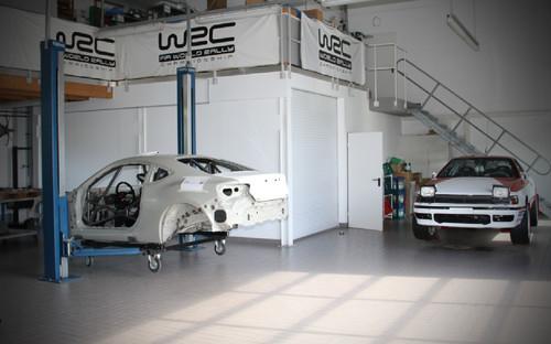 Rallye-Aufbau für den Toyota GT86.