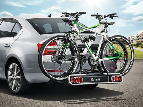 Skoda-Zubehör: Fahrradträger.