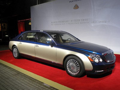 Auto China 2010: Weltpremiere Maybach Facelift.