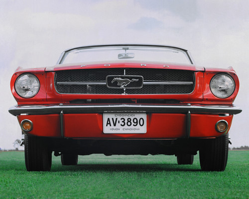 Ford Mustang Cabrio (1965).