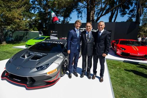 Stephan Winkelmann, Giampaolo Dallara und Maurzio Reggiani (von links).