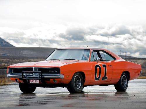Dodge Charger General Lee, 1969.