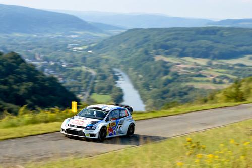 WRC-Lauf in Deutschland: Jari-Matti Latvala in den Weibergen.