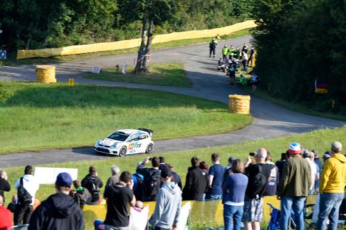 WRC-Lauf in Deutschland.
