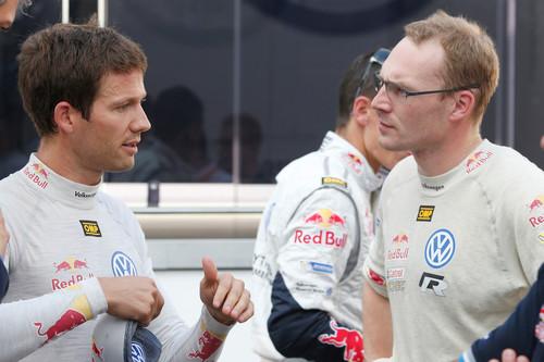 WRC-Lauf in Deutschland. (rechts).