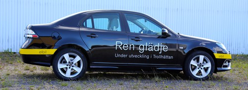 Saab 9-3 Electric Vehicle (Prototyp).