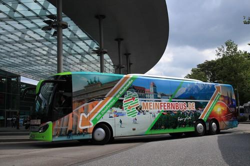 Der 300. Bus von Mein Fernbus.