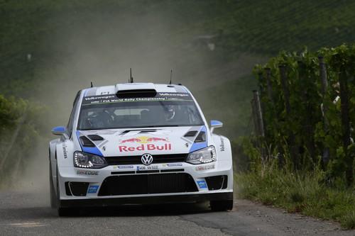 Rallye Deutschland: Sébastian Ogier und Co-Pilot Julien Ingrassia im Volkswagen Polo R WRC.