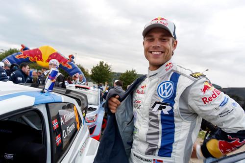 WRC-Lauf in Deutschland: Andreas Mikkelsen.