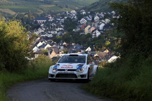 WRC-Lauf in Deutschland: Jari-Matti Latvala.