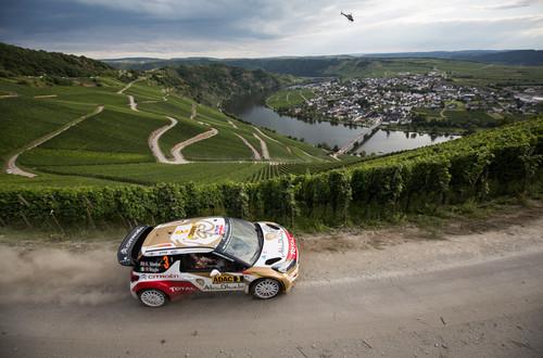 Kris Meeke im Citroen DS3 WRC.