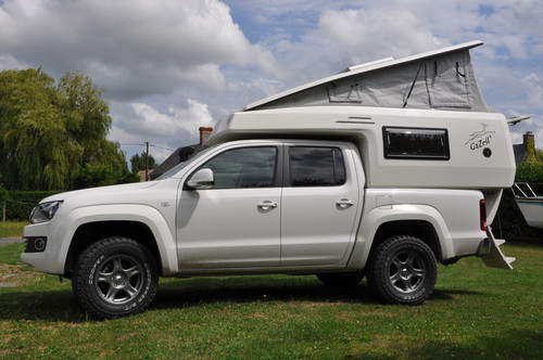 Top Cabine Camping Car