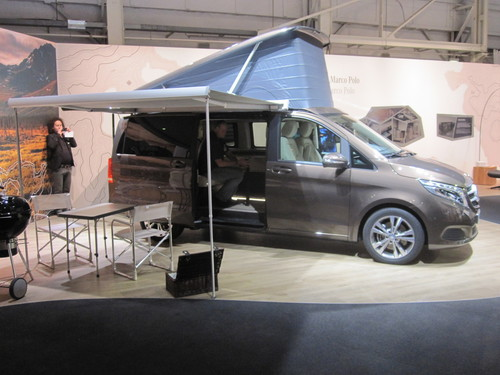 caravan salon 2014 mercedes benz schickt den marco polo. Black Bedroom Furniture Sets. Home Design Ideas