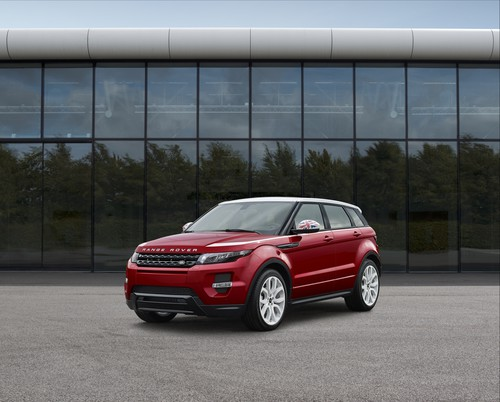 Range Rover Evoque Union.