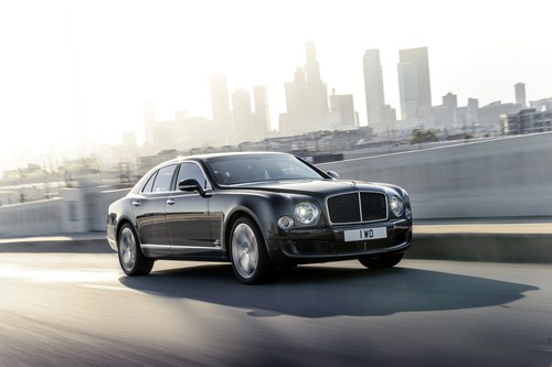 Bentley Mulsane Speed.