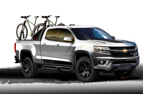 Chevrolet Colorado Sport.