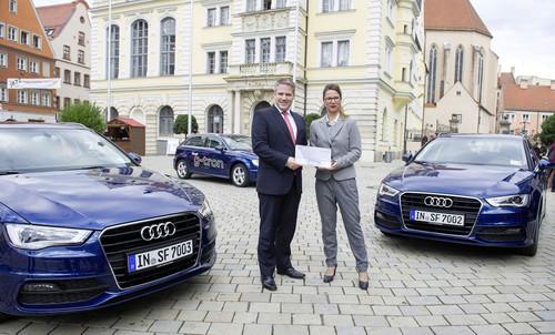 Audi A3 Sportback G-tron überzeugt die Stadt Ingolstadt