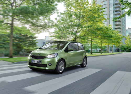 Skoda Citigo Greentec ASG.