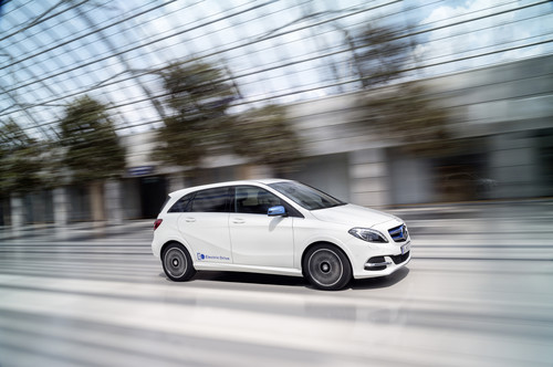 Mercedes-Benz B-Klasse (Electric Drive).