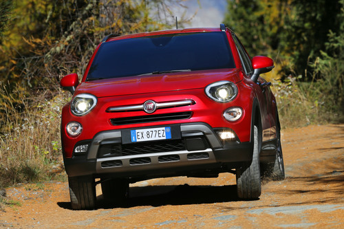 Fiat 500X Cross Plus.