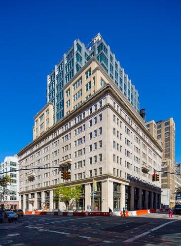 Sitz der Cadillac-Zentrale: 330 Hudson Street in New York.