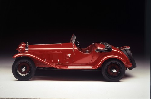 """Auktion von Coys of Kensington unter dem Motto """"True Greats"""": Alfa Romeo 1750 6C von 1929."""