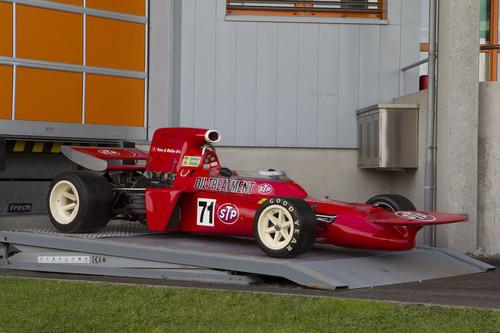 """Auktion von Coys of Kensington unter dem Motto """"True Greats"""": March 711 Formula 1 von 1971."""